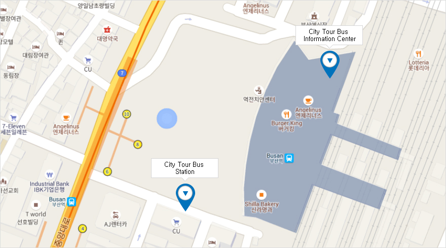 Subway Map Of Busan.Busan City Tour Our Location